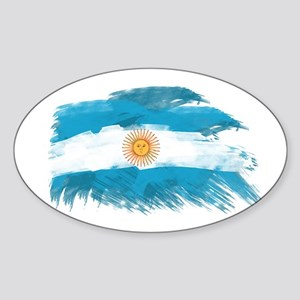 Argentina Sticker (Oval)