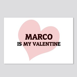 Marco Is My Valentine Postcards (Package of 8)