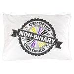 Certified Non-Binary Stamp Pillow Case