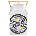 Certified Non-Binary Stamp Twin Duvet Cover