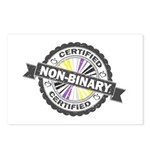 Certified Non-Binary Stam Postcards (Package of 8)