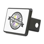 Certified Non-Binary Stamp Rectangular Hitch Cover