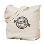 Certified Non-Binary Stamp Tote Bag