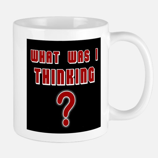 THE QUESTION IS - Mug
