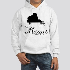 Piano Mozart Hooded Sweatshirt