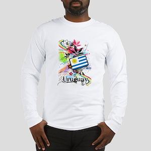 Flower Uruguay Long Sleeve T-Shirt