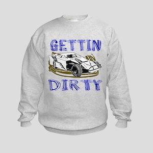 Gettin Dirty - Dirt Modified Kids Sweatshirt