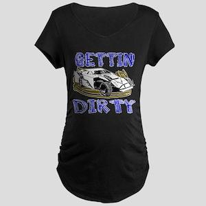 Gettin Dirty - Dirt Modified Maternity Dark T-Shir