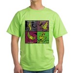 All Is Good on a Bike Green T-Shirt