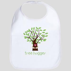Tree Hugger Baby Bib