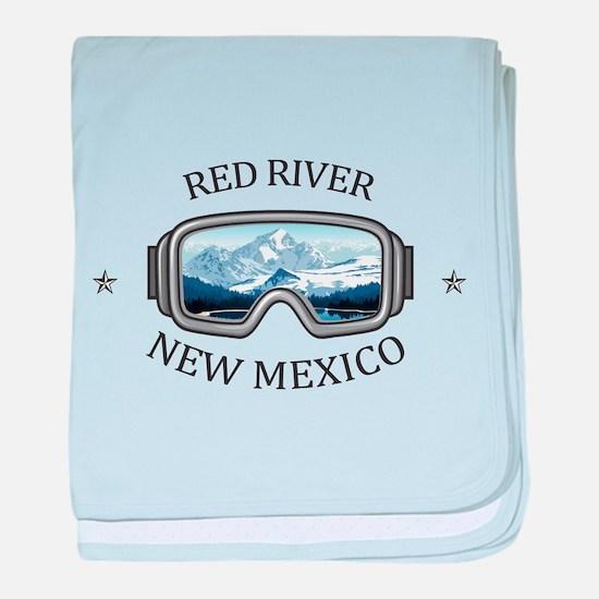 Red River Ski Area - Red River - Ne baby blanket