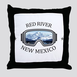 Red River Ski Area - Red River - Ne Throw Pillow