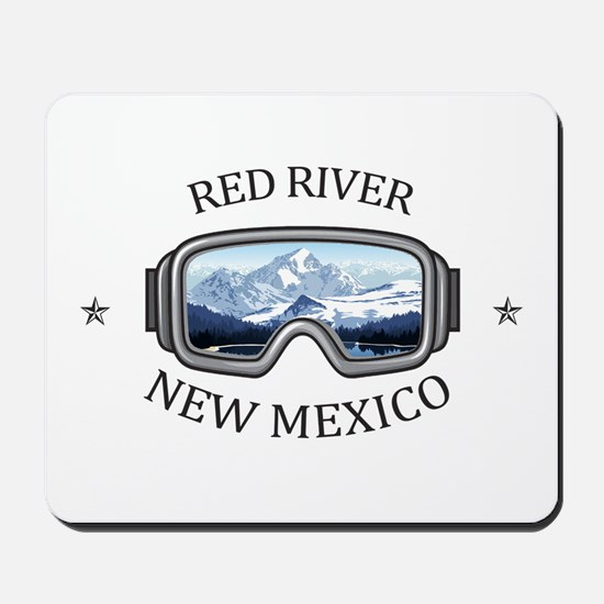 Red River Ski Area - Red River - New M Mousepad