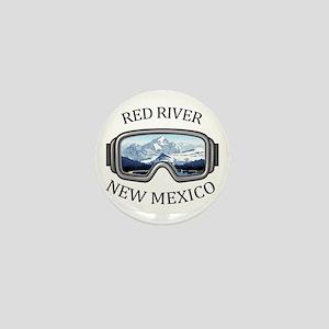 Red River Ski Area - Red River - New Mini Button