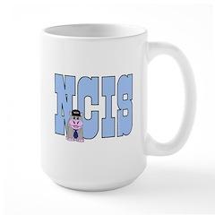 NCIS Abby Bert Large Mug