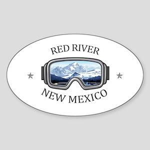 Red River Ski Area - Red River - New Mex Sticker