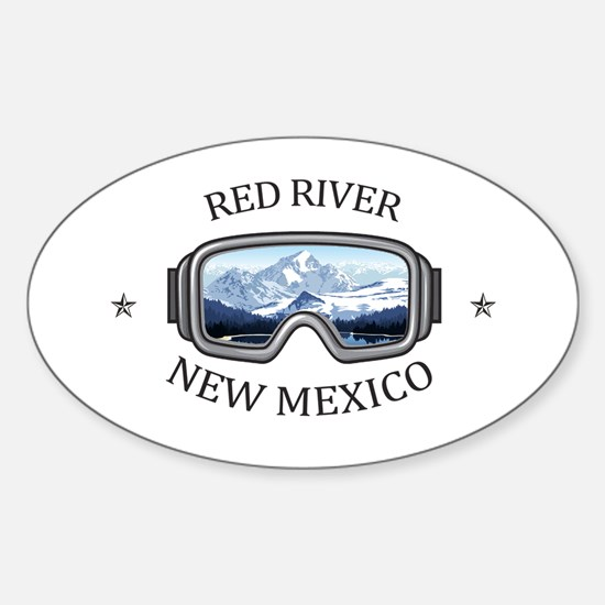 Red River Ski Area - Red River - New Mex Decal