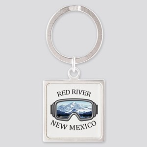Red River Ski Area - Red River - New M Keychains