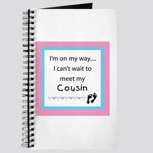 Can't wait to meet my Cousin Journal