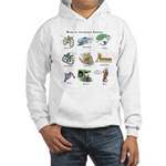 Bikes of the Animal Kingdom Hooded Sweatshirt