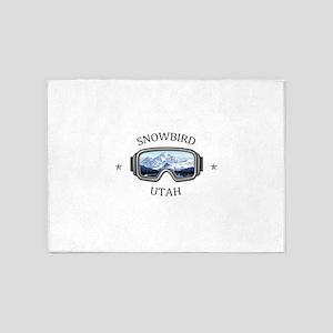 Snowbird - Snowbird - Utah 5'x7'Area Rug