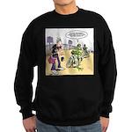 Flying Saucers Sweatshirt (dark)