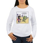Flying Saucers Women's Long Sleeve T-Shirt