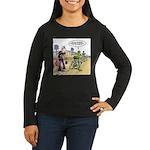 Flying Saucers Women's Long Sleeve Dark T-Shirt