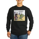 Flying Saucers Long Sleeve Dark T-Shirt