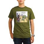 Flying Saucers Organic Men's T-Shirt (dark)