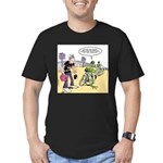 Flying Saucers Men's Fitted T-Shirt (dark)