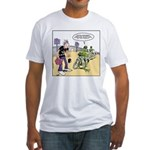 Flying Saucers Fitted T-Shirt