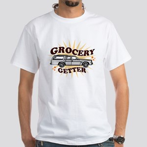 """""""Grocery Getter"""" - White T-Shirt"""