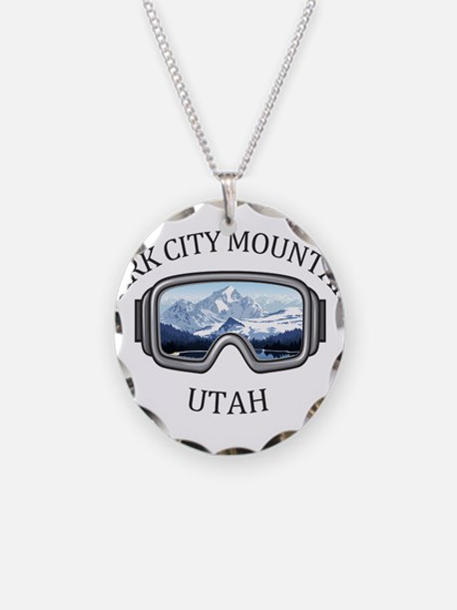 Park City Mountain Resort Necklace