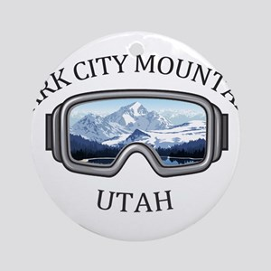 Park City Mountain Resort - Park Round Ornament