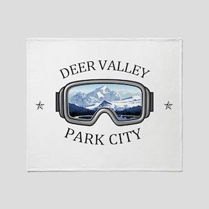 Deer Valley - Park City - Utah Throw Blanket
