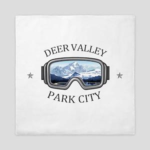 Deer Valley - Park City - Utah Queen Duvet