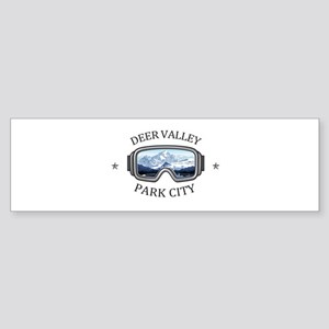 Deer Valley - Park City - Utah Bumper Sticker