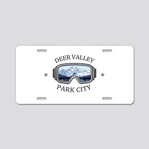 Deer Valley - Park City Aluminum License Plate