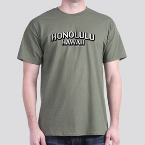 Honolulu Hawaii Dark T-Shirt