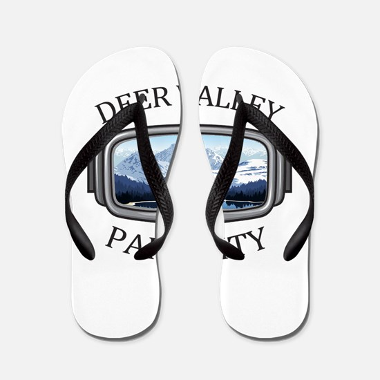 Deer Valley - Park City - Utah Flip Flops