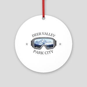 Deer Valley - Park City - Utah Round Ornament
