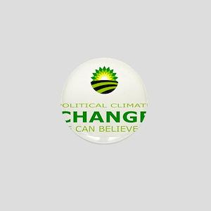 political climate change Mini Button