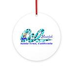 Cal SurferTM Ornament (Round)