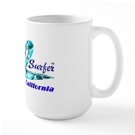 Cal Surfer TM Large Mug