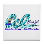 Cal Surfer TM Tile Coaster
