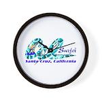 Cal Surfer TM Wall Clock