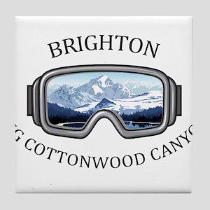 Brighton - Big Cottonwood Canyon - Tile Coaster