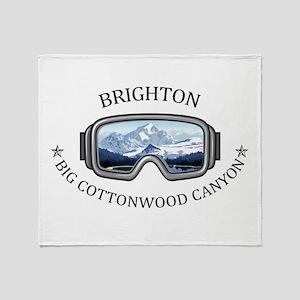 Brighton - Big Cottonwood Canyon - Throw Blanket