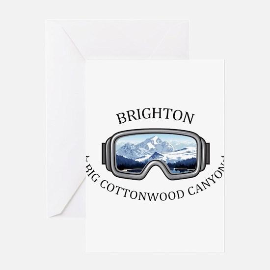 Brighton - Big Cottonwood Canyon Greeting Cards